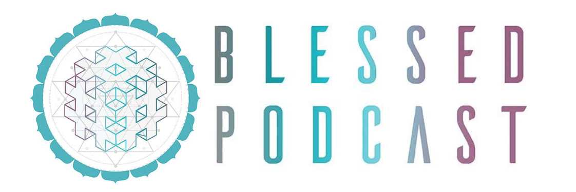 Logo for Blessed Podcast